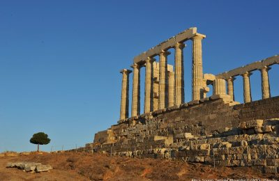 Attica, Sounio, Temple of Poseidon. Photo source: Visit Greece / Y. Skoulas