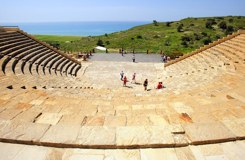 Kourion Theatre, Limmasol.