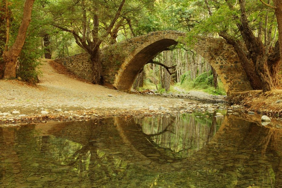 Tzelefos Bridge, Troodos.