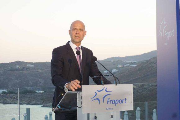 Fraport Greece CEO Alexander Zinnel