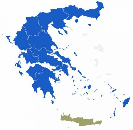 Greek regional elections. Source: Ministry of Interior