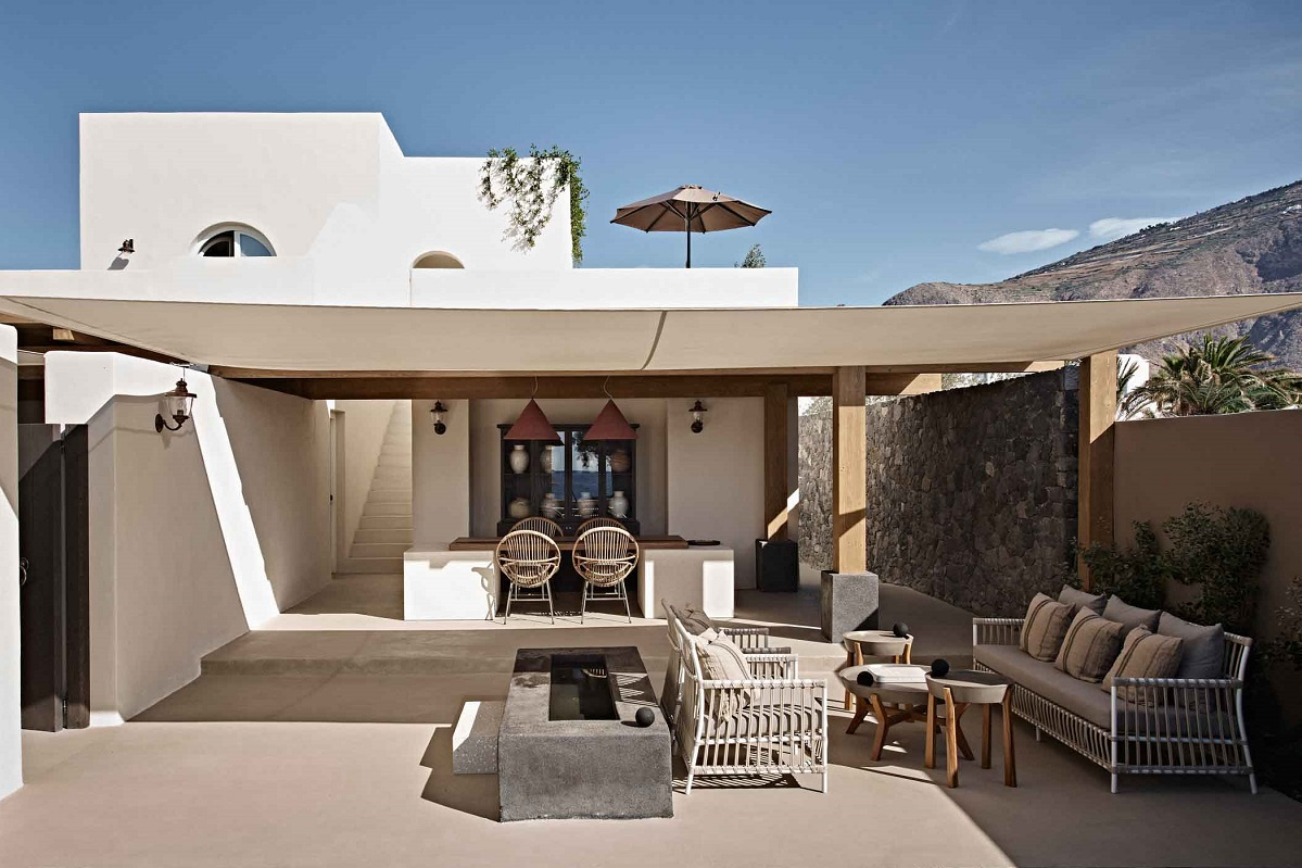 Cnt Santorini S Istoria Hotel Among The Coolest New Island
