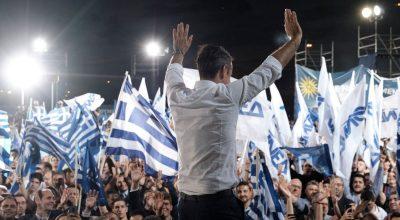 New Democracy leader Kyriakos Mitsotakis. Photo source: @kmitsotakis / twitter