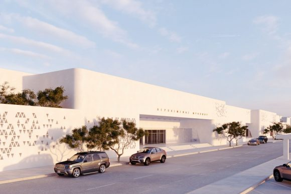 Mykonos Airport in 2021.
