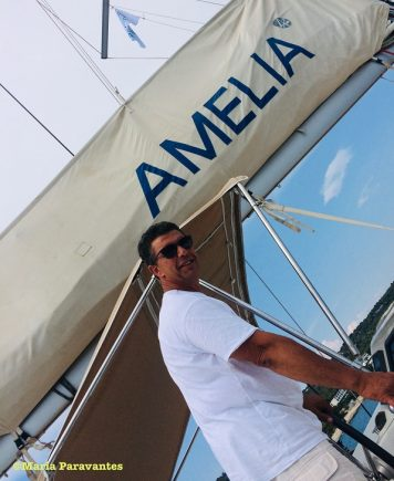 Paris Loutriotis, owner of Exadas Yachts Greece