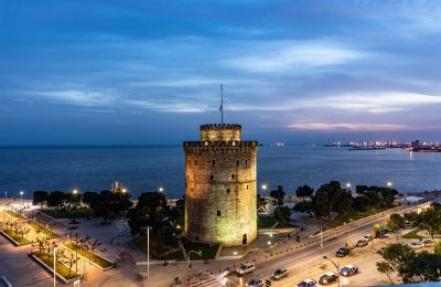 Thessaloniki, northern Greece. Photo Source: @Lufthansa