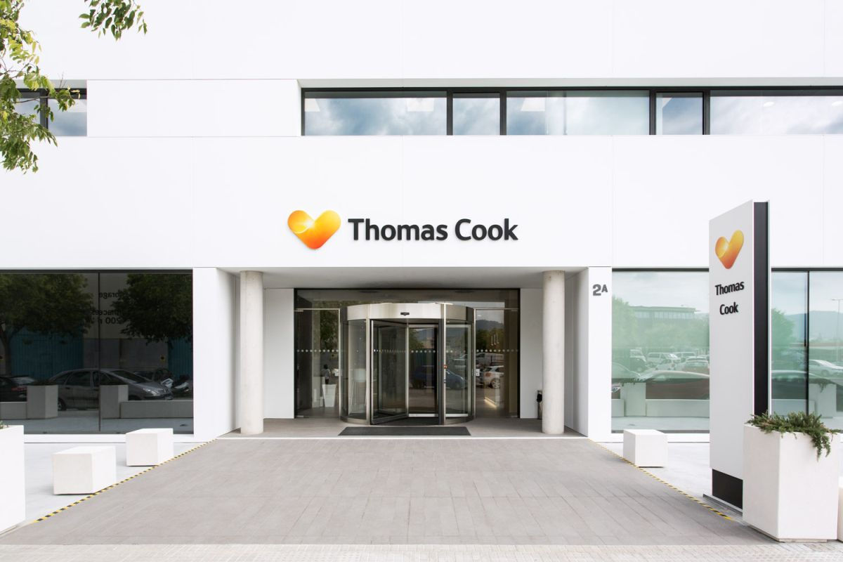 Thomas Cook's Palma office.