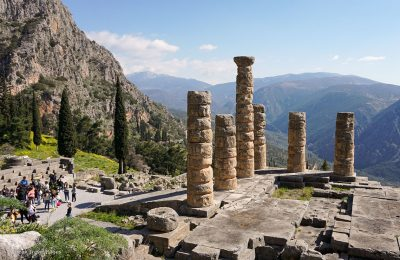 Archaeological site of Delphi, Greece. Photo: GTP
