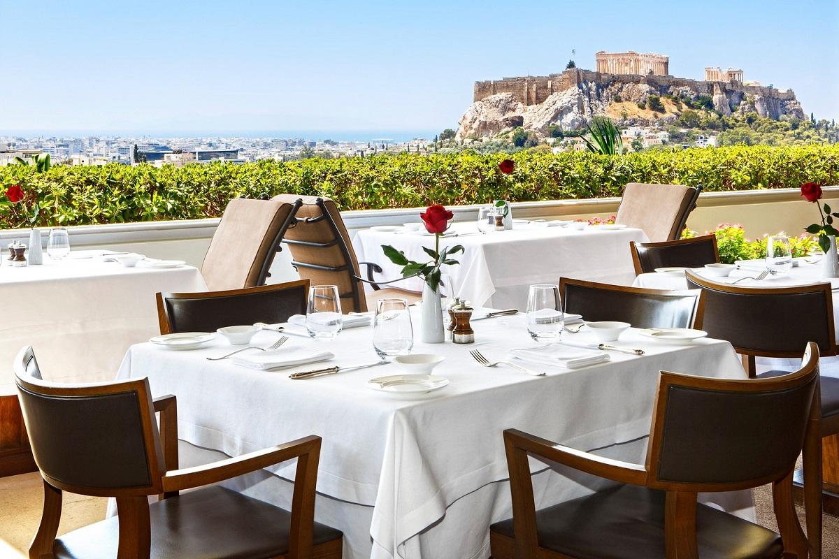 Gb Roof Garden Tudor Hall Restaurants Win Best Award Of