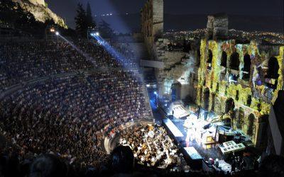 Herod Atticus Odeon. Photo Source: Region of Attica