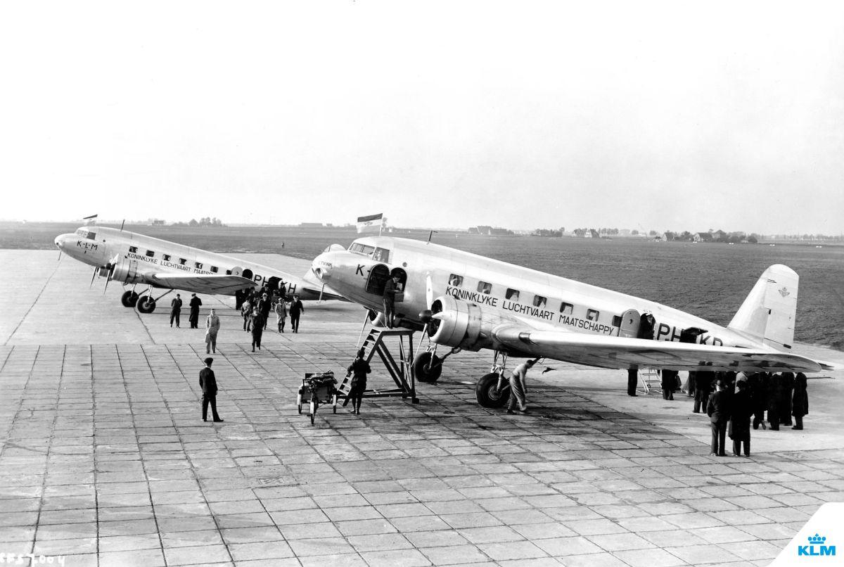 KLM passengers, 1935.