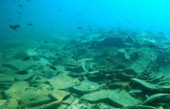 The Kikinthos shipwreck. Photo Source: Ministry of Culture