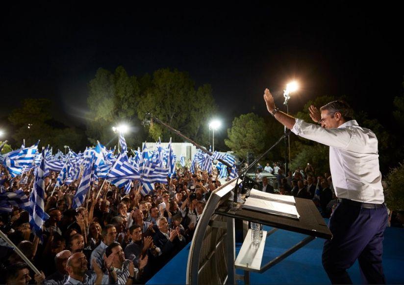 Kyriakos Mitsotakis. Photo source: @neademokratia