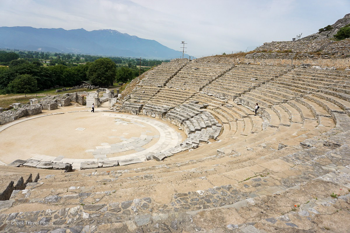 The ancient theater of Philippi. Photo: GTP
