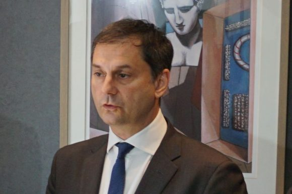 Greek Tourism Minister Haris Theoharis. Photo by GTP