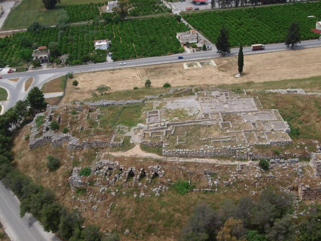 The Archaeological Site of Tiryns. Photo Source: Ministry of Culture
