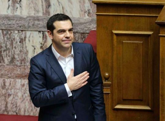 Alexis Tsipras: Photo source: @tsipras_eu
