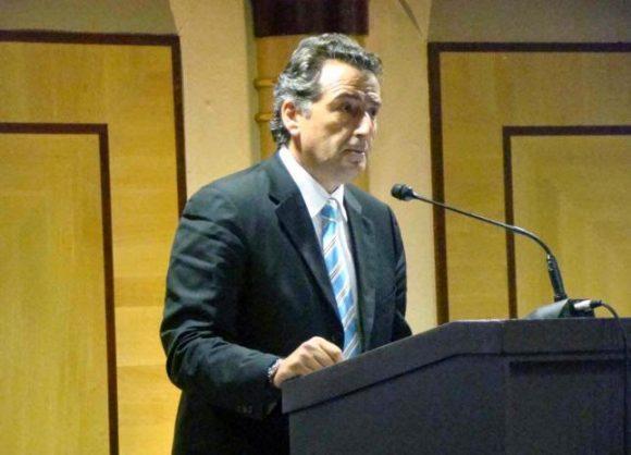 Andros Mayor Theodosis Sousoudis.