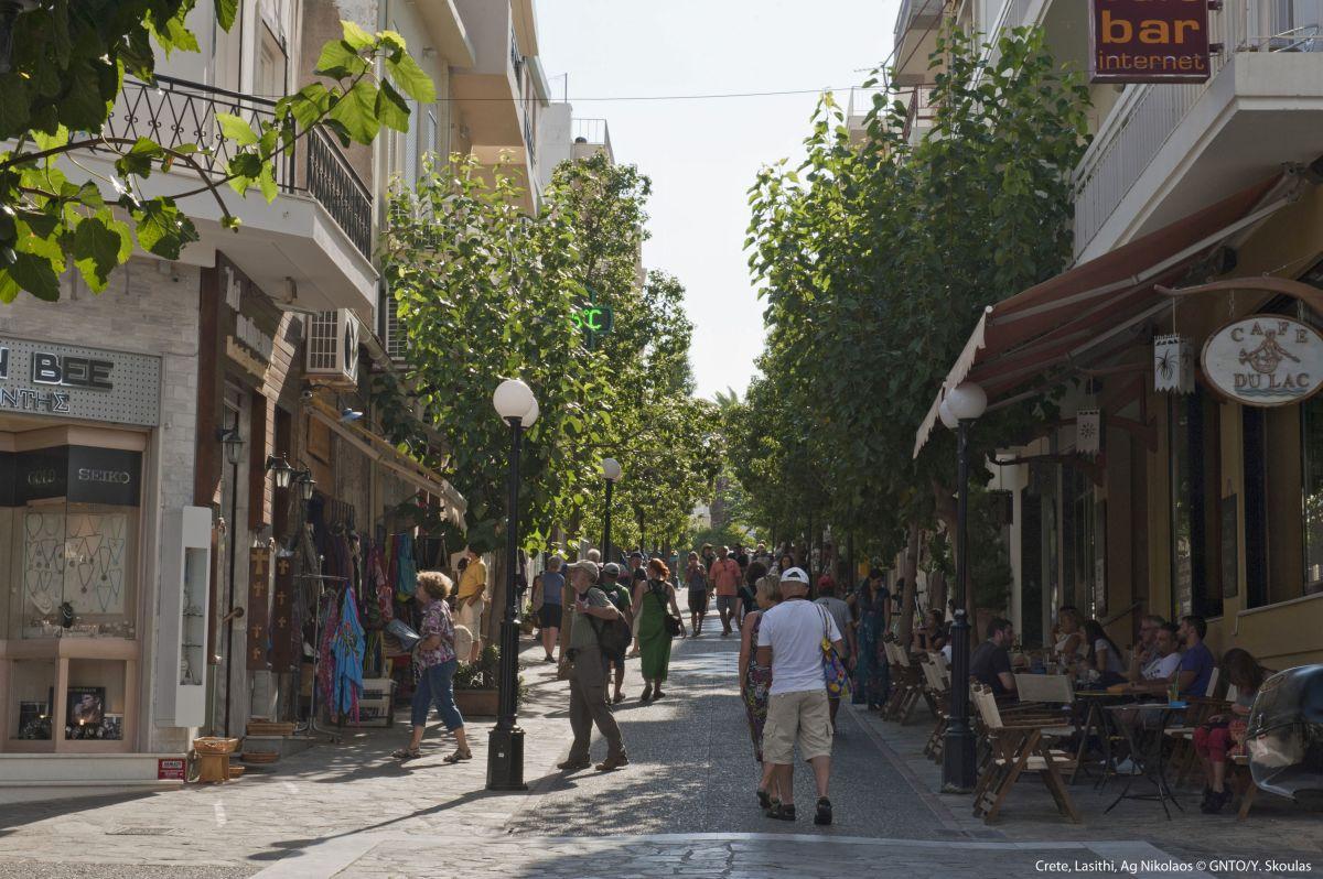 Agios Nikolaos, Lasithi, Crete. Photo source: Visit Greece / Y. Skoulas