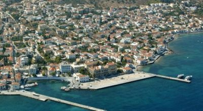 Dapia port, Spetses. Photo Source: Visit Greece