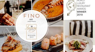Fino Oia restaurant Awards Winner 2019