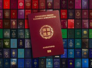 Greek passport