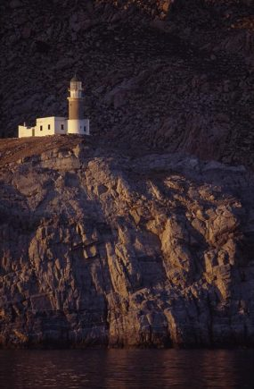 Papas Lighthouse, Ikaria. Photo © Greek Lighthouses