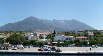 Port of Samothrace. Photo © Kamikaze1975 / Wikimedia Commons