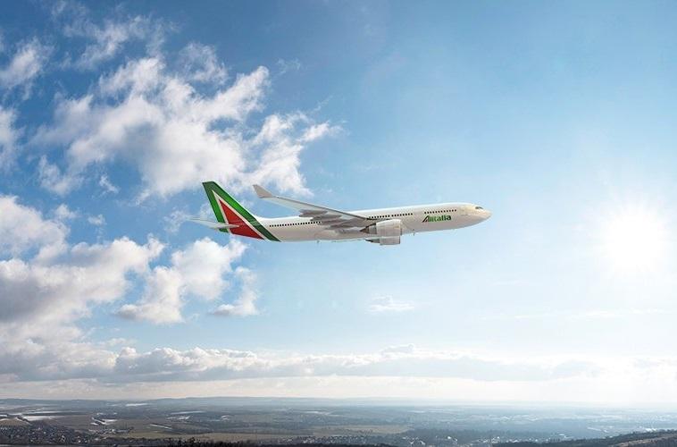Alitalia plane
