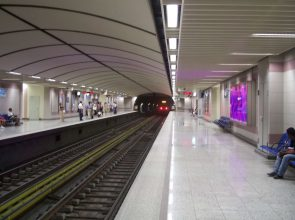 Athens metro.