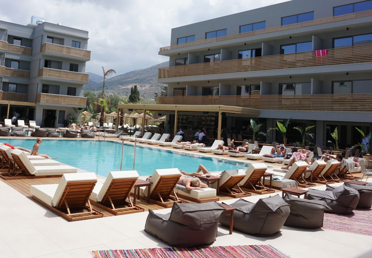 Cook's Club hotel by Thomas Cook on Crete.