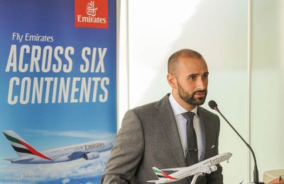 Khalid Al Zarooni, Emirates Area Manager for Greece and Albania.