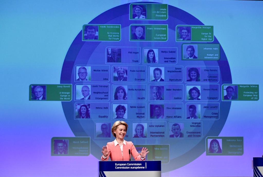 President-elect Ursula von der Leyen. Photo source: @vonderleyen