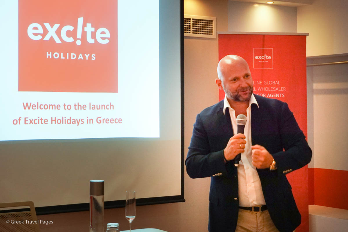 Excite Holidays CEO Yiorgos Papaioannou.