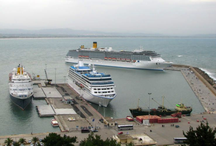 Port of Katakolo.
