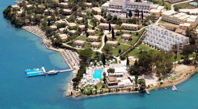 Louis Corcyra Beach Hotel on Corfu.