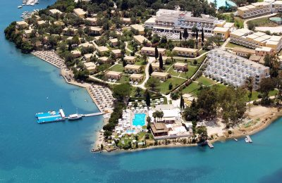Louis Corcyra Beach Hotel on Corfu.