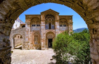The Monastery of Osios Loukas (St Luke) is included on the list of world heritage monuments of UNESCO. Photo © Archdiocese of Athens