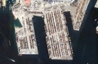 Piraeus port