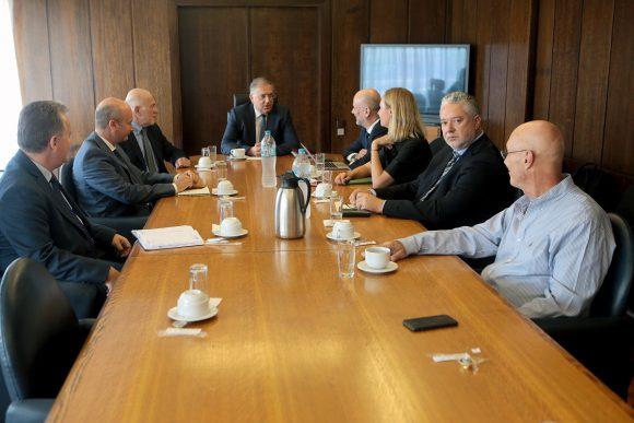 Ο υπουργός Εσωτερικών Παναγιώτης Θεοδωρικάκος συναντάται με το προεδρείο του Συνδέσμου Ελληνικών Τουριστικών Επιχειρήσεων (ΣΕΤΕ) , Πέμπτη 5 Σεπτεμβρίου 2019. ΑΠΕ-ΜΠΕ/ΑΠΕ-ΜΠΕ/Παντελής Σαίτας