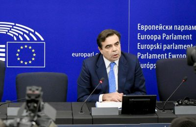 Margaritis Schinas. Photo source: European Parliament