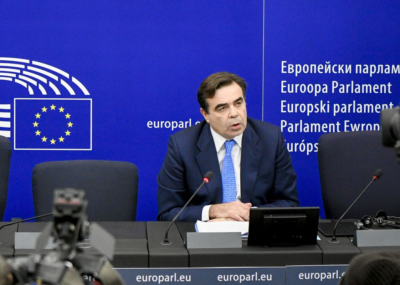 Margaritis Schinas. Photo source: European Parliament