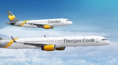 Condor aircraft Thomas Cook