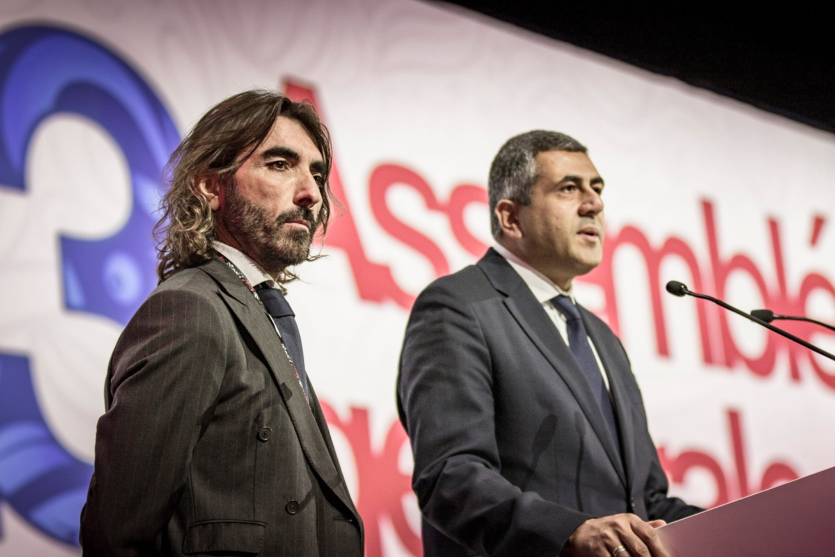 Globalia CEO Javier Hidalgo and UNTWO Secretary General Zurab Pololikashvili
