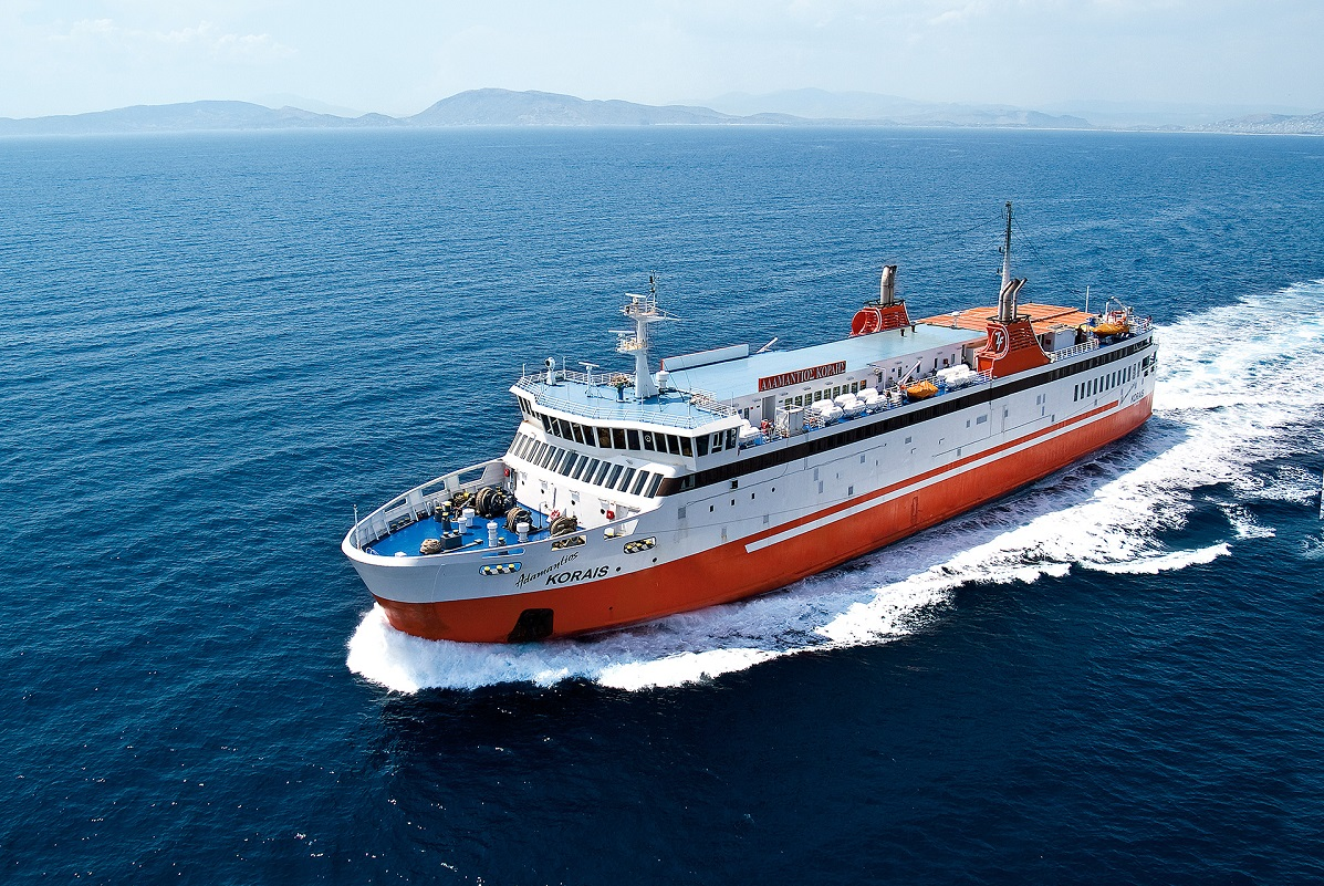 Zante Ferries' Adamantios Korais ship