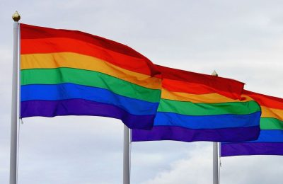LGBT Rainbow flags