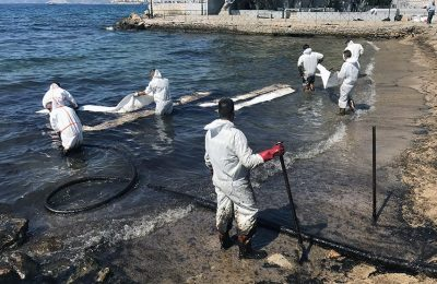 Salamina 2017 oil spill