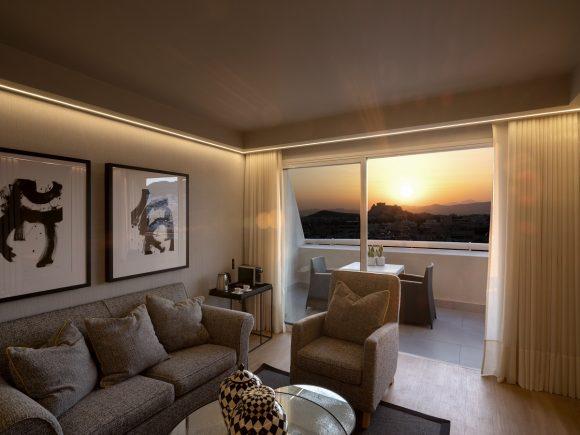 Divine Acropolis View suites, Divani Caravel