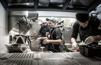 restaurant kitchen, chef