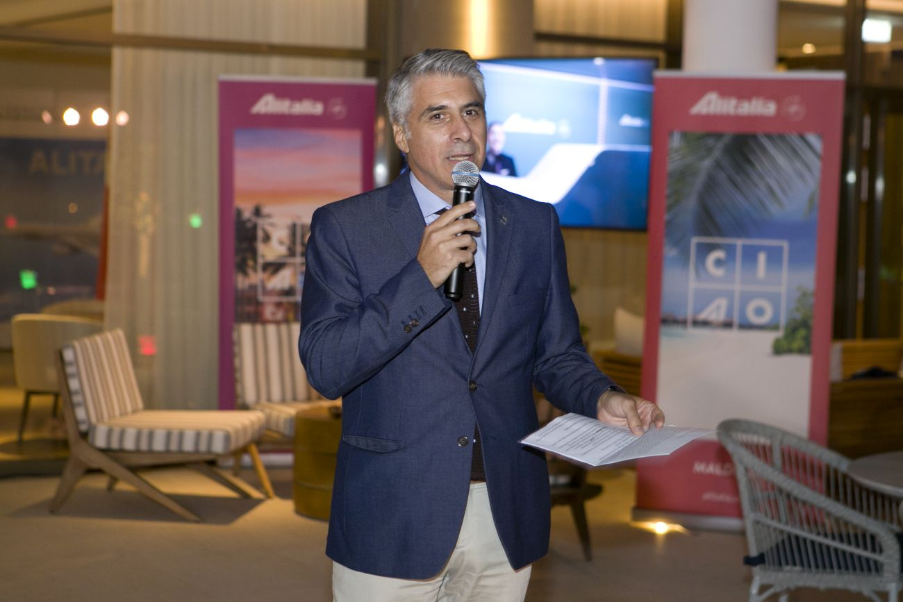 George Athanassiou, Alitalia's Country Manager for Greece, Israel, Cyprus and Malta.